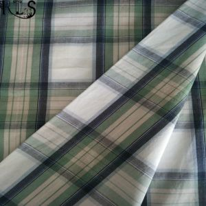 Cotton Poplin Woven Yarn Dyed Fabric for Garments Shirts/Dress Rls40-1po pictures & photos