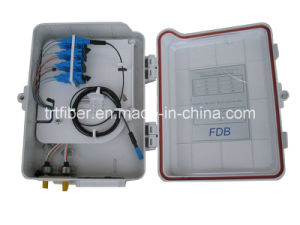 16 Port FTTH Optical Distribution Box with LC, Sc, St, FC Adapter pictures & photos