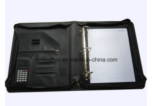 2017 Hot Selling Leather PU/ PVC File Folder Conference Presentation pictures & photos