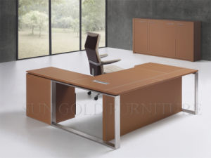 Modern Melamine Black Executive Office Desk Design Furniture (SZ-ODB337) pictures & photos
