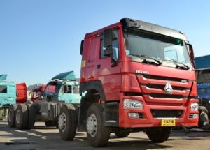 Sinotruk HOWO 380HP 12 Wheeler Dump Truck Chassis pictures & photos