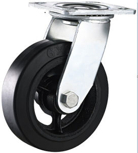 8 Inch Heavy Duty Swivel Casters with Rubber Wheel pictures & photos