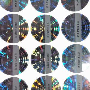 Transparent Laser Number Hologram Sticker Label pictures & photos