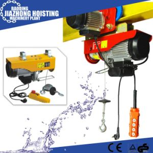 50Hz Single Phase PA800 Mini Electric Wire Rope Hoist