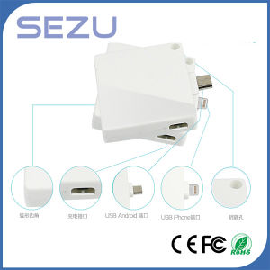 Emergency 500mAh Cube Portable Power Bank pictures & photos