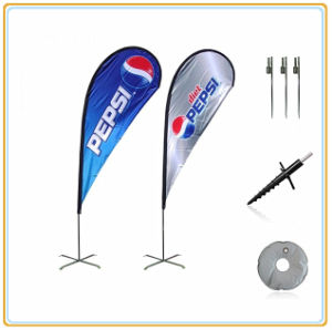 4.5m Promotion Banner Flag for Indoor and Outdoor Event pictures & photos