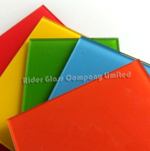 3-6mm Painted Spandrel Ceramic Lacquered Glass pictures & photos