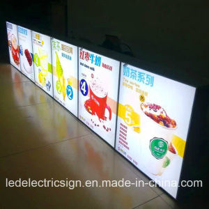 LED Picture Frame with Picture Light for Fast Food Menu Board pictures & photos