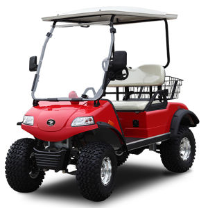 Golf Hunting Cart with Basket and Hybrid Del2022D 2seat pictures & photos