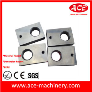 Aluminum High Precison Machinery Part 055 pictures & photos