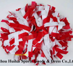 Plastic Red&White POM POM pictures & photos