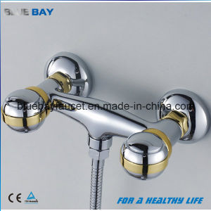 Dual Handle Chrome Plating Brass Shower Mixer Taps pictures & photos