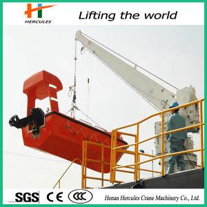 Ship Deck Marine Portable Hydraulic Slewing Crane pictures & photos