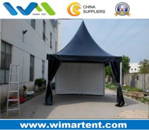 Outdoor 5mx5m Pagoda Tent with Black and White Color pictures & photos