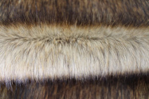 Printing Designs Artificial Fur Fabric for Dressing Stool with Long Wool pictures & photos