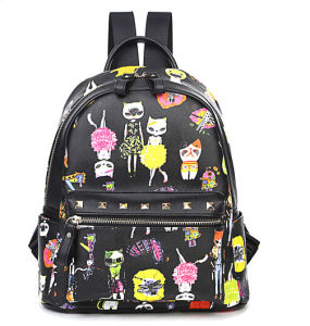 Korea Style Fashion Bag Outdoor Shoulder School Bag Backpack (XB0907) pictures & photos