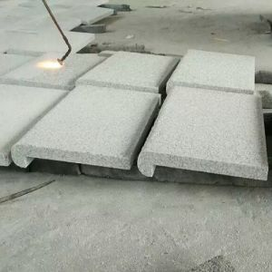 Flamed Grey Granite Tiles G603 with Bullnose Double pictures & photos