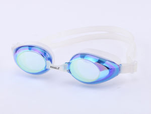 Mirrored Swimming Goggles (mm-7600) pictures & photos