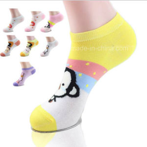 Girl Fluo Ankle Socks, Low Cut Socks. pictures & photos
