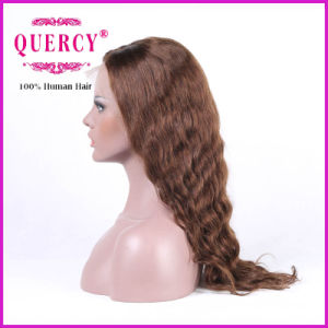 Brazilian Lace Front Wig for Women with Baby Hair, Wavy, Can Be Dyed pictures & photos