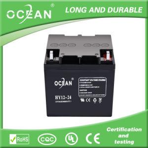 12V 24ah Lead Acid Battery for UPS, Inverter