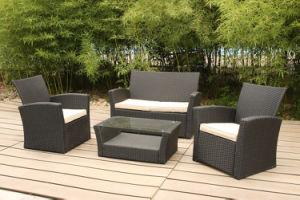 Soft Cushion Rattan Sectional Lounge Sofa Set Garden Outdoor Furniture pictures & photos