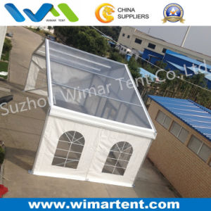Clear Span 12m Marquee Tent with Transparent Roof Cover pictures & photos