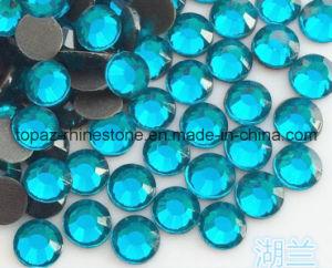 2016 Wholesale Hot Fix Rhinestones for Textiles (SS10 Bluezircon/A Grade) pictures & photos