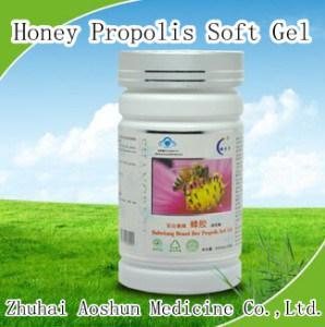 Natural Honey Propolis Soft Gel pictures & photos