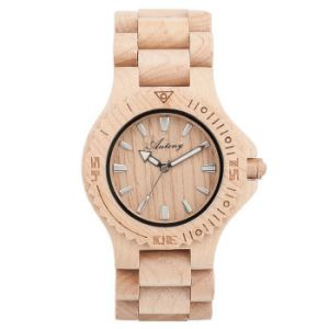 New Environmental Protection Japan Movement Wooden Fashion Watch Bg263 pictures & photos