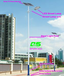 WPSRR-8503 3~15m Municipal Road Hot DIP Galvanized Steet Light Pole style pictures & photos