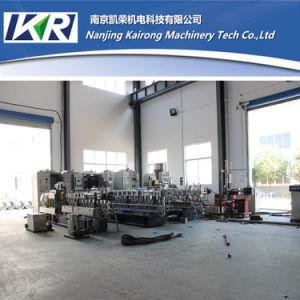 PE Film Recycling Plastic Granule Making Machine Price pictures & photos