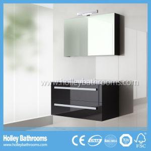 Modern High-Gloss Paint Popular LED Lights Bathroom Sets (B924P)