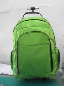 Backpack with Trolley and Double Shoulder pictures & photos