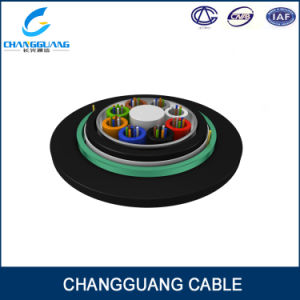 Duct or Direct Burial Optic Fiber Cable with Singlemode G652D Fiber pictures & photos