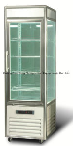 High Quality Six Sides Vertical Cake Display Refrigerator pictures & photos