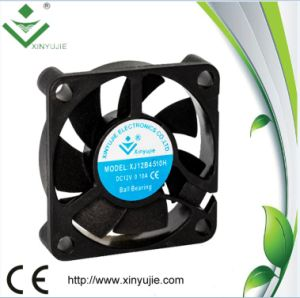 Mini Small Dimension 45mm 45*45*10mm Fireproof DC Cooling Fan pictures & photos