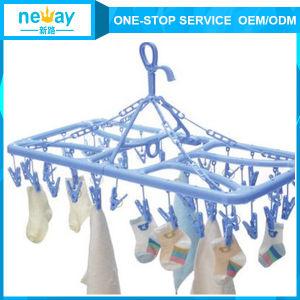 Neway Foldable Plastic Hanger pictures & photos