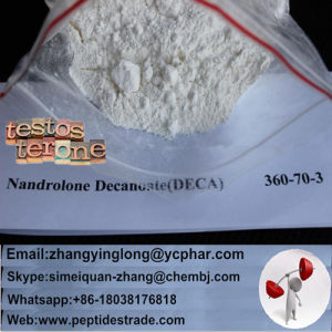 99% Raw Human Growth Steroid Hormone Nandrolone Decanoate Powder pictures & photos