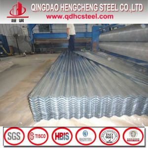 Regular Spangle Galvalume Corrugated Steel Roofing Sheet pictures & photos