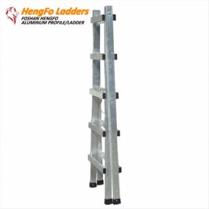 Five-Steps Collapsible Aluminium Ladder for Agricultural or House Use pictures & photos