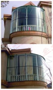 Professional Supplier of Aluminium Curved Sliding Window (BHA-SWA05) pictures & photos