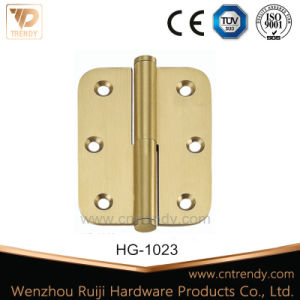 Flat Hinge, Radius Corner Lift off Brass Hinge pictures & photos
