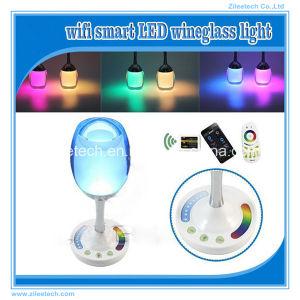 USB Rechargeable Gobal LED Light Bulb 12V Desk Lamp