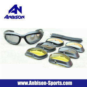 Anbison-Sports Safety Range Glasses Shooting Eye Protection Glasses pictures & photos