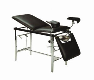 Stainless Steel Mechanical Gynecological Examination Table (XH-G-3C) pictures & photos