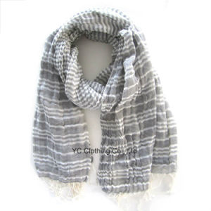 Mens Knitted Cashmere 100% Acrylic Cashmere Scarf pictures & photos