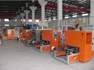 Aluminum Foil Roll Automatic Electrical Motor Rewinding Machine pictures & photos