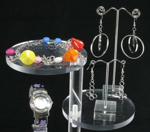 Acrylic Cosmetic Nail Polish Lipstick Necklace Jewelry Display pictures & photos