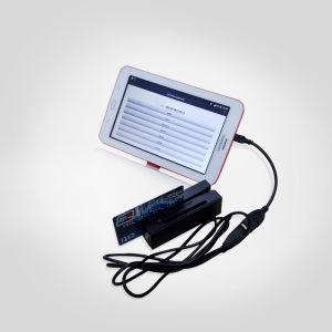 Sh100-IC USB Magnetic Stripe Card Reader with IC EMV Chip Card Reader Writer/Encoder